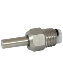 "Brijbaknippel 1/2"" RVS VD 30/58 mm (ip)"
