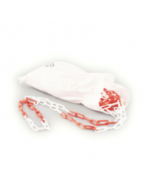 Afzetketting Rood/Wit 30 m