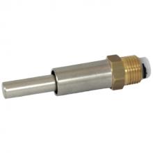 """Brijbak nippel 1/2"""" RVS/mess VD 71/97 mm (ip)"""