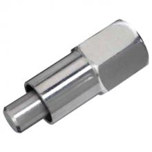 Brijbak nippel 3/8 RVS 3/8 bi dr LD 60 mm (ip)