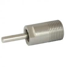 """Brijbak nippel 3/8"""" RVS HD/LD 28/48 mm (ip)"""