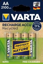 Batterij Varta Mignon AA Akku 1,2 (per pak van 4 stuks)