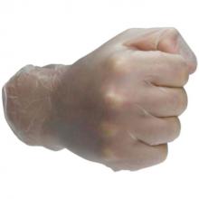 Wegwerp handschoen kort (Vinyl) 100 stuks)