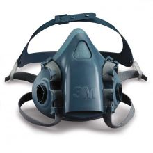 3M Halfgelaats masker 7501 siliconen S