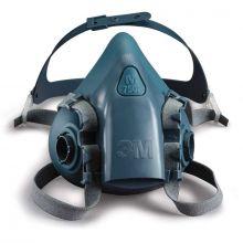 3M Halfgelaats masker 7502 siliconen M