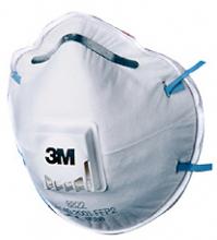 3M FFP2 fijnstof masker met ventiel 8822 (per stuk)