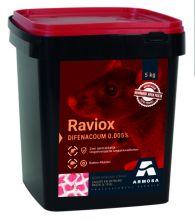 Raviox 5 kg (10g pasta 50 ppm difenacoum)