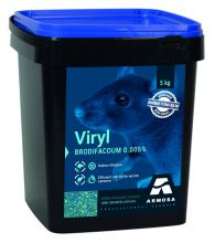 Viryl 5 kg (3 granen-mix 50 ppm Brodifacoum)