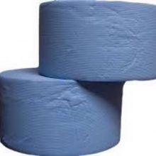 Uierdoek pak 2 rol blauw