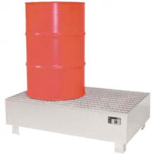 Lekbak voor vaten van 2 x 200L
