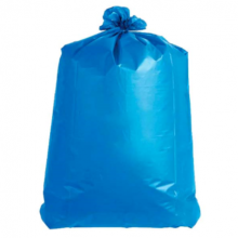 Vuilniszakken 120 L blauw 70x110 (per rol 25 stuks)