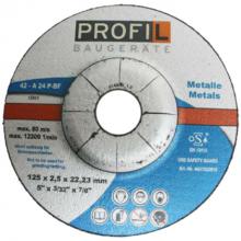 Profil Slijpschijf metaal 125 mm (per 25 stuks)