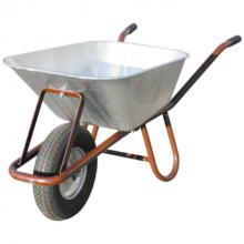 Kruiwagen (met verzinkte bak) 90 L