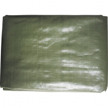 Afdekzeil 210g/m² 4 m x 6 m groen