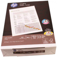 Kopieerpapier A4 80 gr. wit ongeperforeerd (500 vel)
