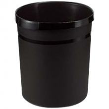 Prullenmand zwart 18 L