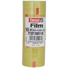 Plakband Tesa 33 m x 15 mm (per 10 stuks)