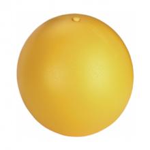 Speelbal antistress geel 30 cm