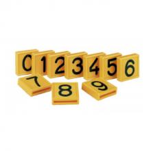 Kokernummers voor koehalsband nummer 0 t/m 9 (per 10 stuks)