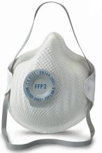 Moldex FFP2 NRD 2405 fijnstof masker + ventiel (per stuk)