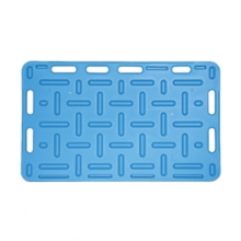 Opdrijfschot 76x126 cm blauw