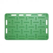 Opdrijfschot 76x126 cm groen