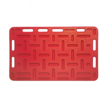 Opdrijfschot 76x126 cm rood