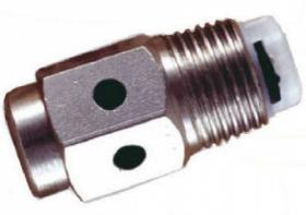 """Sproeinippel 1/2"""" RVS VD 3-gaats 41 mm (ip)"""