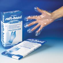 Handschoen kunststof (per 100 stuks)