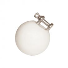 Speelbal verzinkt 55 mm