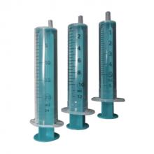 Wegwerp injectiespuit 10ml 2-delig (per 100 stuks)
